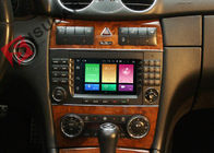 Cina Layar Multi Touch Layar Mercedes C Class Dvd Player, Mercedes Benz Head Unit Fungsi 4G perusahaan