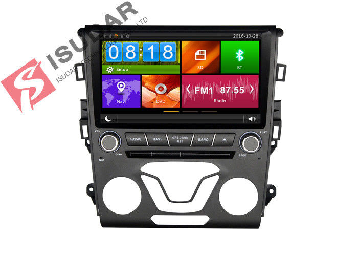 256MB 9 Inch Touch Screen Car Stereo , Ford Car DVD Player IPOD 3G TPMS DVR