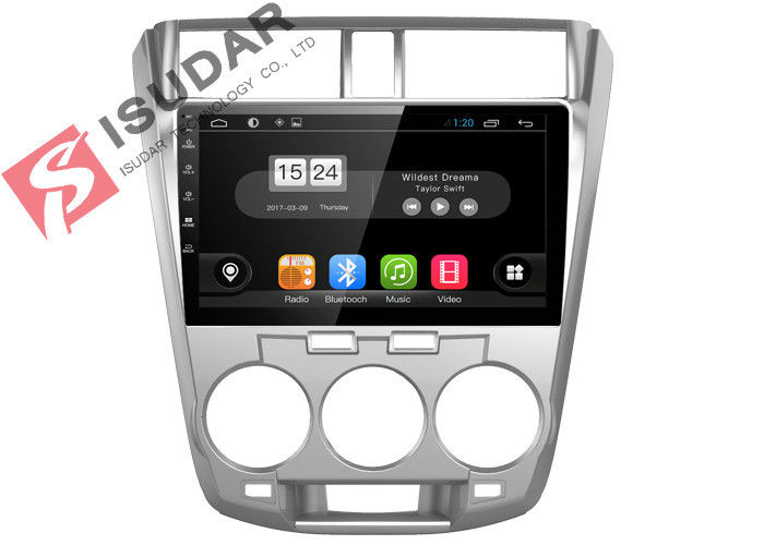 Honda City Head Unit Android Car Navigation System With 4G WIFI 2G RAM 16G ROM