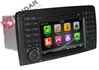 Cina 800 * 480 Resolusi Mercedes Cls Dvd Player, All In One Car Stereo Gps Build RDS pabrik