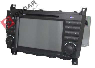 Cina Video 1080p Didukung Mercedes Benz Car DVD Player Untuk C Class W203 256Mb RAM pabrik