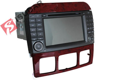 Cina Double Din Mercedes Di Car Dvd Player, Di Dash Gps Car Stereo Dengan Navigasi pabrik