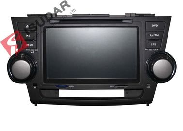 RAM 2G Toyota Highlander Dvd Player, Unit Head Din Double 8 Inch, Mendukung TPMS