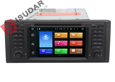 Octa Core Android 6.0 BMW DVD Navigasi GPS BMW 5 Series Head Unit 2G RAM 32G ROM