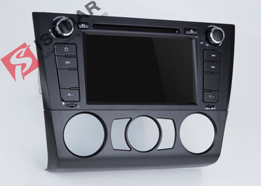 Bluetooth 3G USB BMW DVD Navigasi GPS Dalam Dash Cd Dvd Player 256Mb RAM